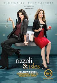 Риццоли и Айлз / Rizzoli & Isles / Риззоли и Айлс смотреть онлайн 1 сезон