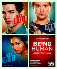 Сериал Быть Человеком/Being Human 2 сезон онлайн