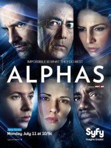 Сериал Псионики / Alphas (2011) смотреть онлайн